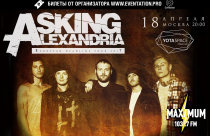 YOTASPACE : 18 апреля 2017 г. : Asking Alexandria